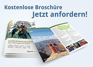 Kostenlose Schüleraustausch-Broschüre