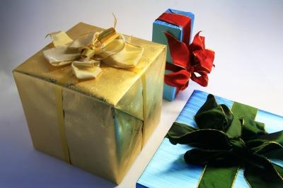 Geschenkpaeckchen