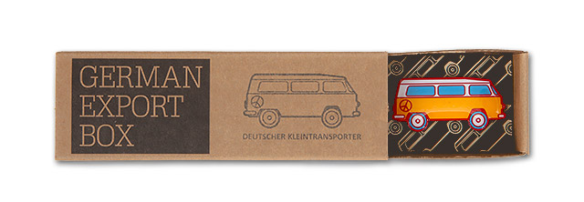 Power-PIN – Motiv: Deutscher Transporter