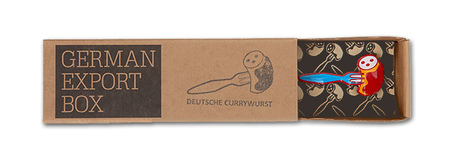 Power-PIN – Motiv: Deutsche Currywurst