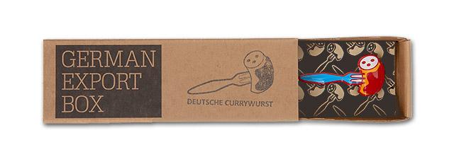 Power-PIN – Motiv: Deutsche Currywurst